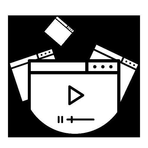 Icono de diseño multimedia