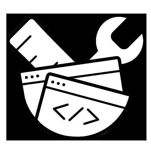 Icono de diseño web